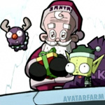 avatar: Christmas: Santa Claus: Invader Zim