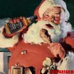 Santa Claus: Jack Daniels: Drunk