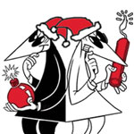 avatars: Mad: Spy vs Spy: Christmas