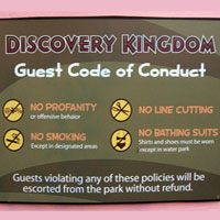Discovery Kingdom Code of Conduct