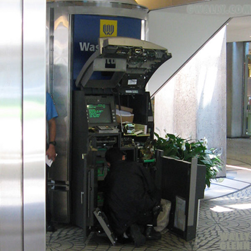 Inside Cash Machine