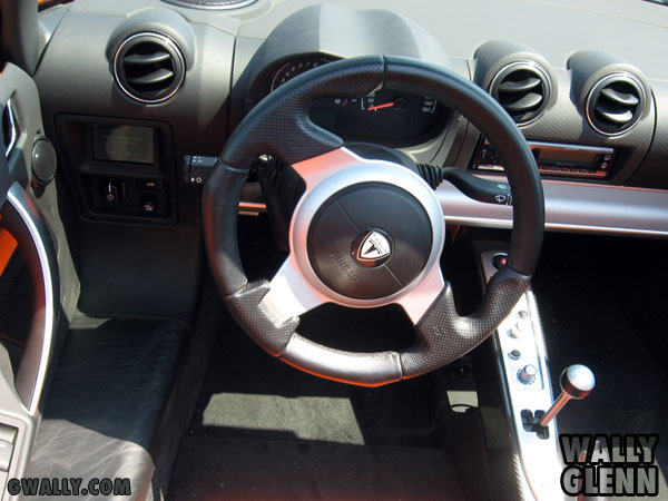 Tesla Roadster: Interior View